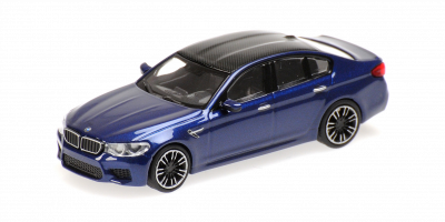 MINICHAMPS 1/87scale BMW M5 2018 Blue Metallic  [No.870028001]