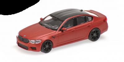 MINICHAMPS 1/87scale BMW M5 2018 Mat Red  [No.870028004]