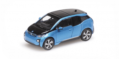 MINICHAMPS 1/87scale BMW I3 2014 Blue Metallic  [No.870028100]