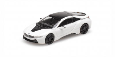 MINICHAMPS 1/87scale BMW I8 Coupe 2015 White Metallic  [No.870028221]