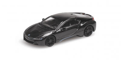 MINICHAMPS 1/87scale BMW I8 Coupe 2015 Gray Metallic  [No.870028222]
