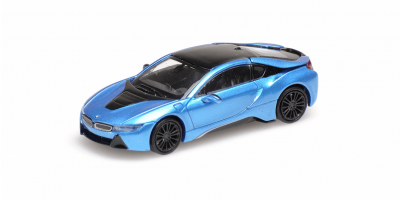 MINICHAMPS 1/87scale BMW I8 Coupe 2015 Blue Metallic  [No.870028224]