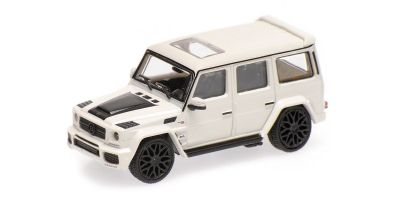 MINICHAMPS 1/87scale BRABUS 850 6.0 BITURBO WIDESTAR AUF BASIS MERCEDES-BENZ AMG G 63 – 2015 – WHITE  [No.870037101]