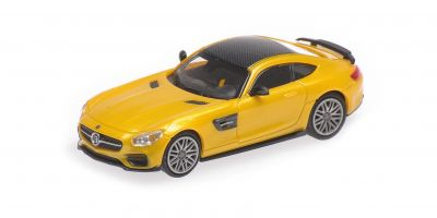 MINICHAMPS 1/87scale BRABUS 600 AUF BASIS MERCEDES-BENZ AMG GT S – 2015 – GOLD  [No.870037322]