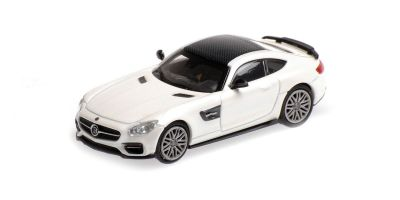 MINICHAMPS 1/87scale BRABUS 600 AUF BASIS MERCEDES-BENZ AMG GT S – 2015 – WHITE  [No.870037324]