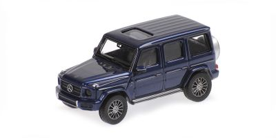 MINICHAMPS 1/87scale Mercedes Benz G-Class W 463 2018 Blue  [No.870037401]