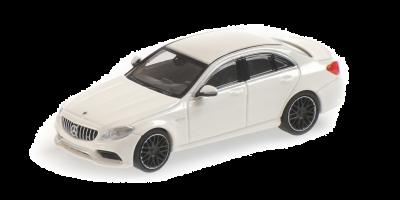 MINICHAMPS 1/87scale Mercedes AMG C63 2017 White  [No.870038100]