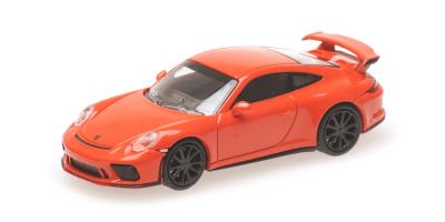 MINICHAMPS 1/87scale Porsche 911 GT3 2017 Orange  [No.870067320]