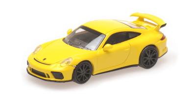 MINICHAMPS 1/87scale Porsche 911 GT3 2017 Yellow  [No.870067321]