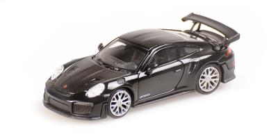 MINICHAMPS 1/87scale Porsche 911 GT2 RS2018 Black / Carbon Strike  [No.870068120]