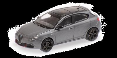 MINICHAMPS 1/87scale Alfa Romeo Giulietta Veloche 2017 Gray Metallic  [No.870120004]