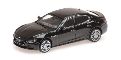 MINICHAMPS 1/87scale MASERATI GHIBLI – 2018 – BLACK  [No.870123000]