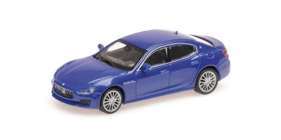 MINICHAMPS 1/87scale MASERATI GHIBLI – 2018 – DARK BLUE METALLIC  [No.870123004]