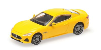 MINICHAMPS 1/87scale MASERATI GRANTURISMO – 2018 – YELLOW METALLIC  [No.870123120]