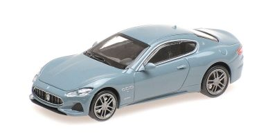 MINICHAMPS 1/87scale MASERATI GRANTURISMO – 2018 – BLUE METALLIC  [No.870123121]