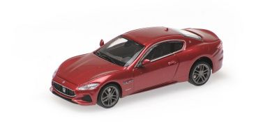 MINICHAMPS 1/87scale MASERATI GRANTURISMO – 2018 – RED METALLIC  [No.870123122]