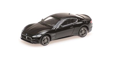 MINICHAMPS 1/87scale MASERATI GRANTURISMO – 2018 – BLACK  [No.870123124]