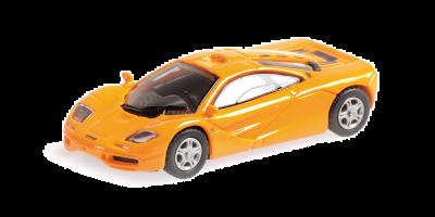 MINICHAMPS 1/87scale McLaren F1 Road Car Orange  [No.870133821]