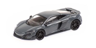 MINICHAMPS 1/87scale McLaren 675LT Coupe Gray  [No.870154420]