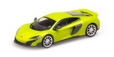 MINICHAMPS 1/87scale McLaren 675LT Coupe Green  [No.870154422]