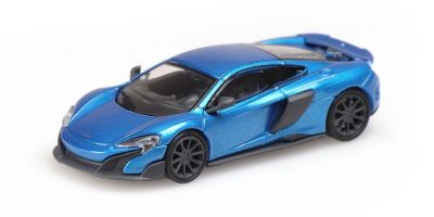 MINICHAMPS 1/87scale McLaren 675LT Coupe Blue  [No.870154424]