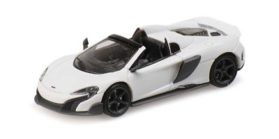 MINICHAMPS 1/87scale McLaren 675LT Spider White  [No.870154430]