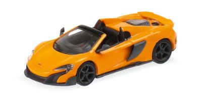MINICHAMPS 1/87scale McLaren 675LT Spider Orange  [No.870154431]