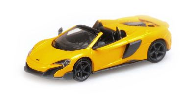 MINICHAMPS 1/87scale McLaren 675LT Spider Yellow  [No.870154432]