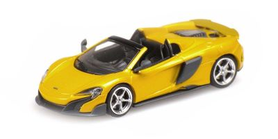 MINICHAMPS 1/87scale McLaren 675LT Spider SOLIS (Gold)  [No.870154434]