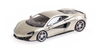 MINICHAMPS 1/87scale McLaren 570S Silver  [No.870154540]