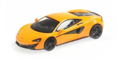 MINICHAMPS 1/87scale McLaren 570S Orange  [No.870154541]