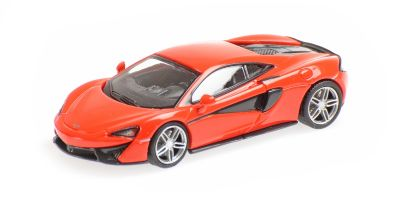 MINICHAMPS 1/87scale McLaren 570S Red  [No.870154544]