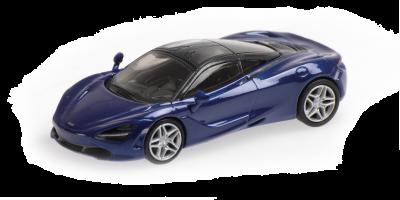 MINICHAMPS 1/87scale McLaren 720S Blue  [No.870178720]