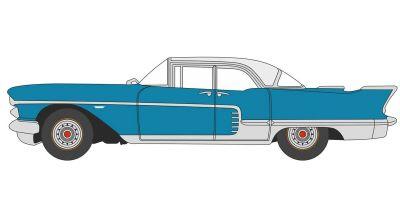 OXFORD 1/87scale Copenhagen Blue Cadillac Eldorado Hardtop 1957  [No.OX87CE57003]