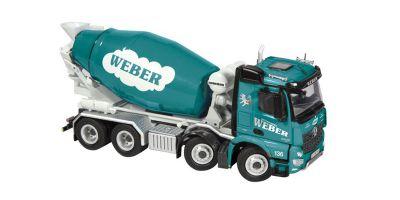 "NZG 1/50scale Mercedes-Benz Arokusu 8 × 4 mixer truck ""WEBER""  [No.NZG906-11]"