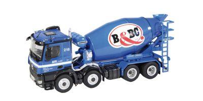 """NZG 1/50scale Mercedes-Benz Arokusu 8 × 4 mixer truck """"BaBC""""  [No.NZG906-14]"""