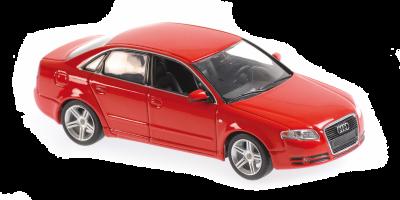 MINICHAMPS 1/43scale Audi A4 2004 Red  [No.940014401]