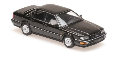 MINICHAMPS 1/43scale AUDI V8 - 1990 - BLACK METALLIC  [No.940016000]