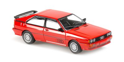 MINICHAMPS 1/43scale Audi Quattro 1981 Red  [No.940019420]