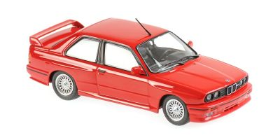 MINICHAMPS 1/43scale BMW M30 (E30) 1987 Red  [No.940020300]