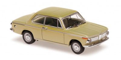 MINICHAMPS 1/43scale BMW 1600 – 1968 – NEVADA BEIGE  [No.940022100]