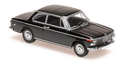MINICHAMPS 1/43scale BMW 1600 – 1968 – BLACK  [No.940022101]