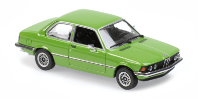 MINICHAMPS 1/43scale BMW 323I 1975 Green  [No.940025474]
