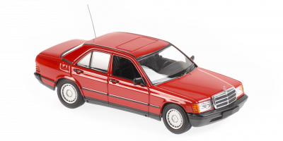 MINICHAMPS 1/43scale Mercedes Benz 190E 1984 Red  [No.940034102]