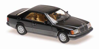MINICHAMPS 1/43scale Mercedes-Benz 320CE (C124) 1991 Black Metallic  [No.940037021]