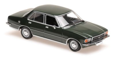 MINICHAMPS 1/43scale OPEL REKORD D – 1975 – DARK GREEN  [No.940044001]