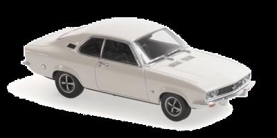 MINICHAMPS 1/43scale Opel Manta A 1970 White  [No.940045502]