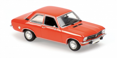 MINICHAMPS 1/43scale Opel Ascona 1970 Red  [No.940045800]
