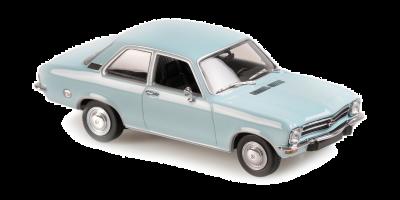 MINICHAMPS 1/43scale Opel Ascona 1970 Blue  [No.940045801]