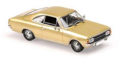 MINICHAMPS 1/43scale OPEL REKORD C COUPE – 1966 – GOLD  [No.940046120]